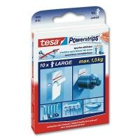 Tesa PowerStrips Large, 10 pcs.