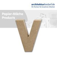 Buchstabe Papier-Mâché - V