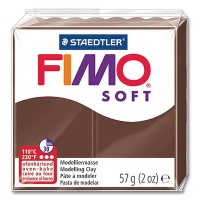 Fimo Soft 75 chocolate