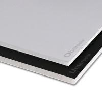 F-Board schwarz/grau, 70 x 100 cm, Stärke 5 mm