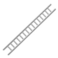 Kunststoff-Leiter 3 x 100 mm