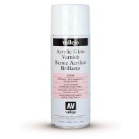 Vallejo Premium Varnish Spray Brillante Gloss