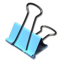 Foldback-Klammer 41 mm Trendfarbe hellblau