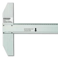 Alu-Zeichenschiene 70 cm