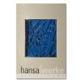 Paper Clips, plastic coating, blue