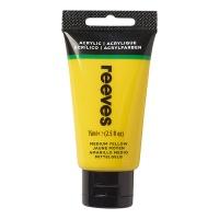 Reeves Acrylic 75 ml, 120 medium yellow