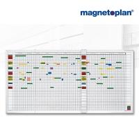 magnetoplan Aktivitäten-/ Urlaubsplaner 80, 5-Tage-Woche