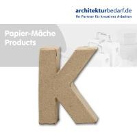 Buchstabe Papier-Mâché - K
