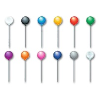 Brause Marking Needle 6 mm assorted colors