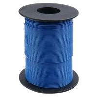 Kupferschaltlitze 100 m Rolle blau