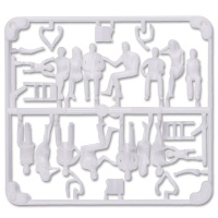 3D Figures 1:50 sitting, white