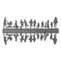 Figure Set Children, 1:200, grey