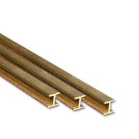 Brass H-Profile 1,0 x 1,0 mm