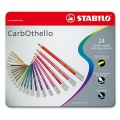 Stabilo CarbOthello - 24 Colors in Metal Case