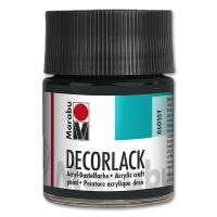 Decorlack Acrylic glossy - No. 073 black