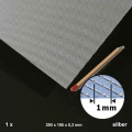 Expanded Metal, Aluminium, Hash 1 mm