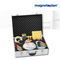 magnetoplan Kompakt Moderationskoffer, gefüllt