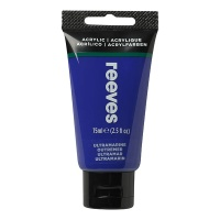 Reeves Acrylic 75 ml, 340 ultramarine blue