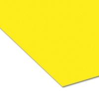Colored Paper 50 x 70 cm, 14 banana yellow