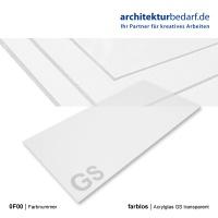 Acrylglas GS  500 x 1000 x 2 mm