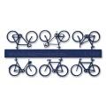 Fahrräder, 1:100, dunkelblau