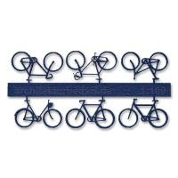 Bicycles, 1:100, darkblue