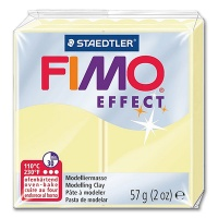 Fimo Effect Pastellfarbe 105 vanille