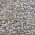 Mauerpappe Bruchsteinmauer bunt 25 x 12,5 cm