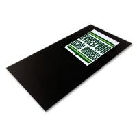 Evergreen Polystyrolplatte schwarz 2 Stück