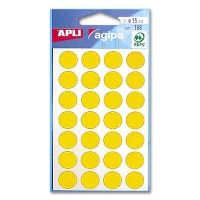 agipa Marking Points, Ø 15 mm, yellow