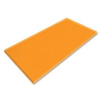 Plexiglas® GS transparent satined orange