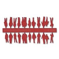 Figuren, 1:200, rot