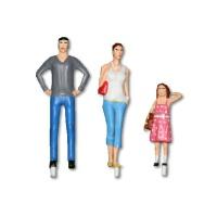 Model Figures 1:25 standing, Leisure