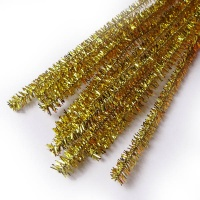 Pfeifenputzer gold