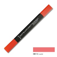 Delta Marker scarlet 13