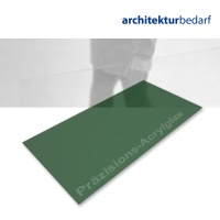 Präzisions-Acrylglas transparent grün