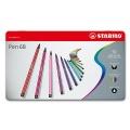Stabilo Pen 68 Metallbox mit 50 Farben