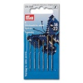 Knitting Needles without tip, with gold eye, 6 pcs.