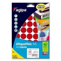 agipa Marking Points, Ø 24 mm, red