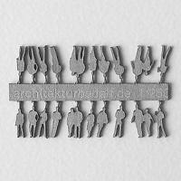 Figures, 1:250, light grey
