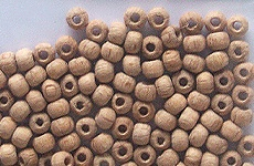 Wooden Balls perforated