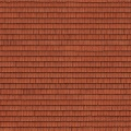 Dachpappe Dachziegel rot 25 x 12,5 cm