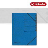 Ordnungsmappe 1-12 blau