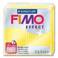 Fimo Effect Translucent Colour 104 yellow