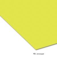 Colored Paper DIN A3, 13 lemon yellow