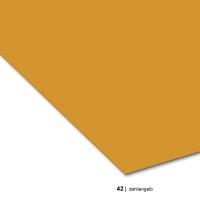 Tonzeichenpapier 70 x 100 cm, 42 dahliengelb