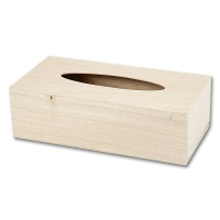 Wooden Cosmetic Tissue Box