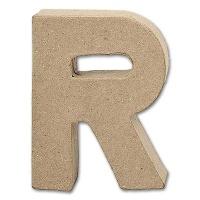 Buchstabe Papier-Mâché - R