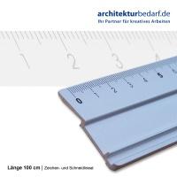 Zeichen- und Schneidlineal 100 cm
