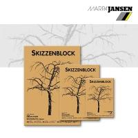 Skizzenblock braun 24 x 34 cm
